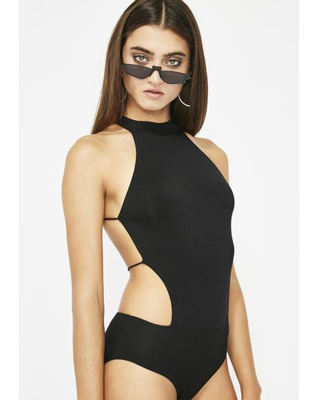 Let Go Backless Bodysuit
