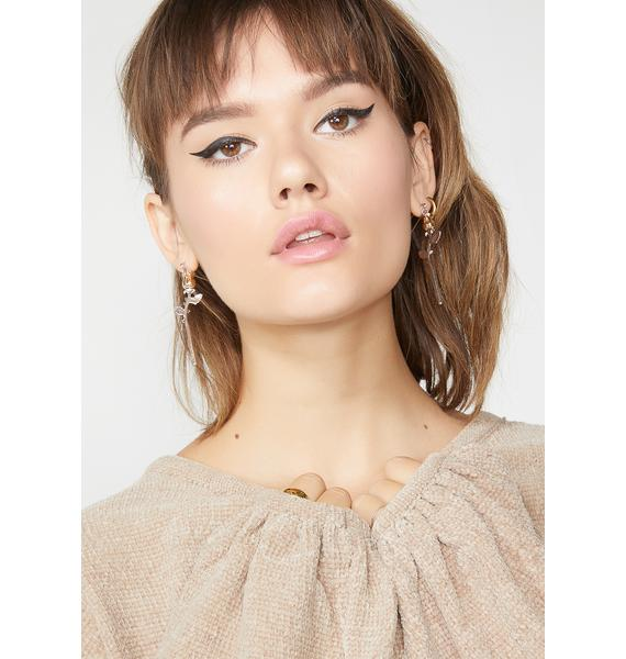 Look Sharp Safety Pin Earrings