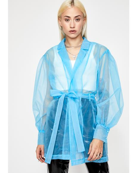 Surreal Sass Organza Blouse