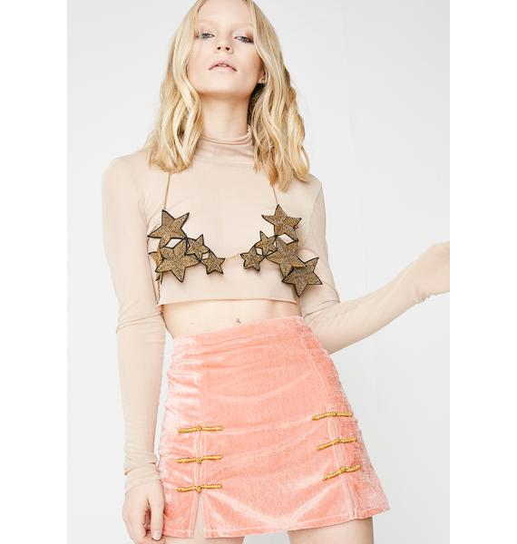 O Mighty Peach Sincity Skirt