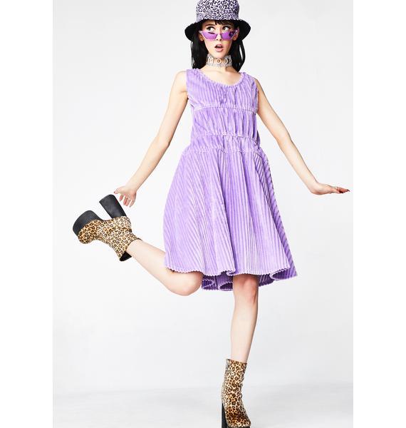 Somewhere Nowhere Corduroy Dress