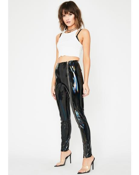 Sinister Act Up Vinyl Pants