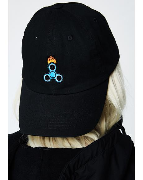 Fire Spinner Dad Hat