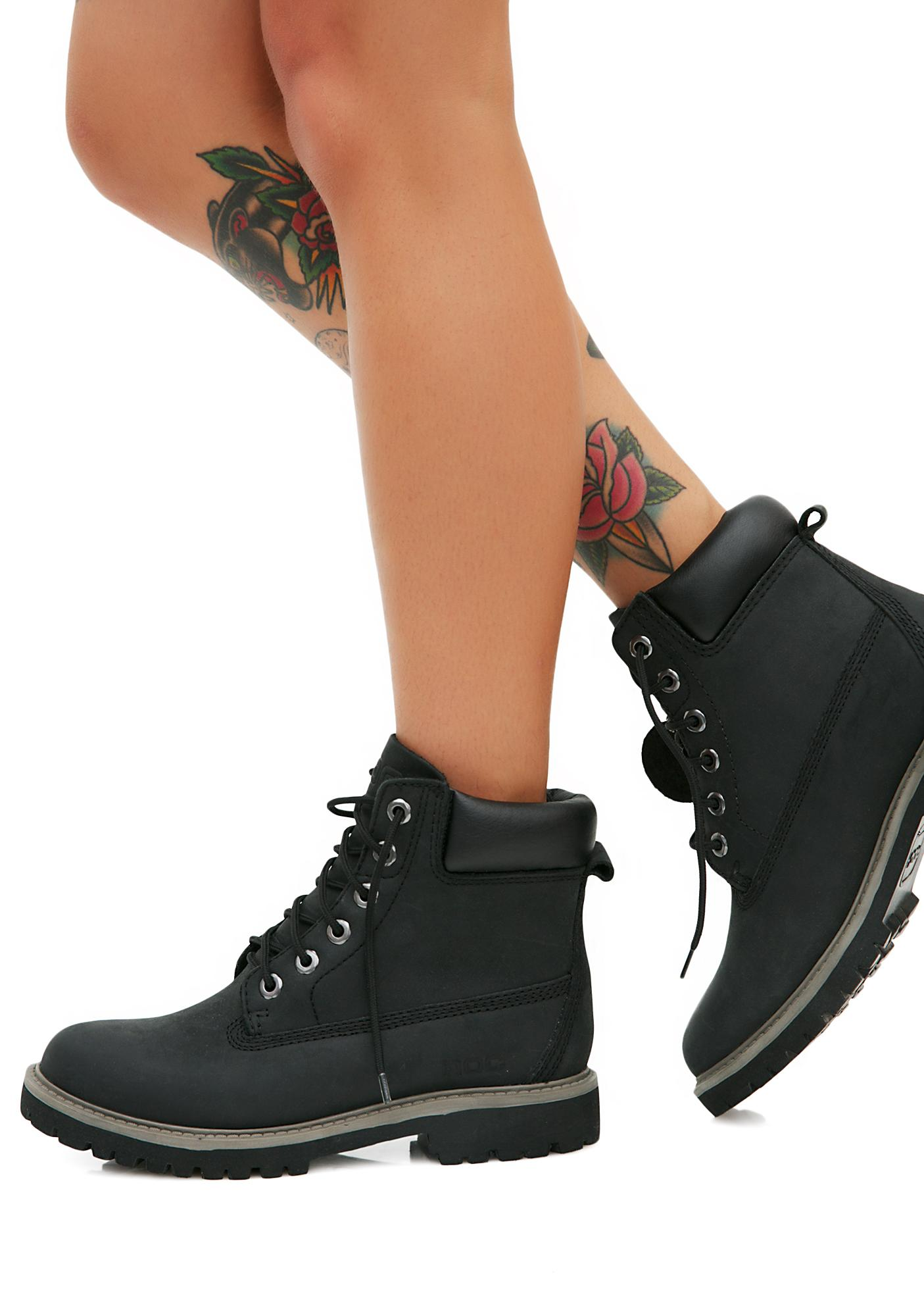ROC Boots Charcoal Rover Boots