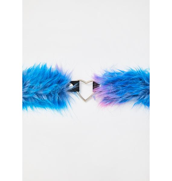 Electric Animal Fuzzy Choker
