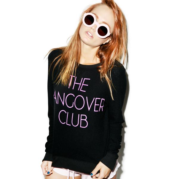 Wildfox Couture Hangover Club Baggy Beach Jumper