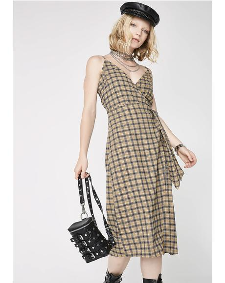 Can't Fool Me Midi Dress