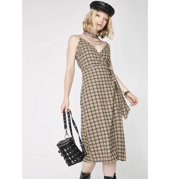 Can't Fool Me Midi Dress