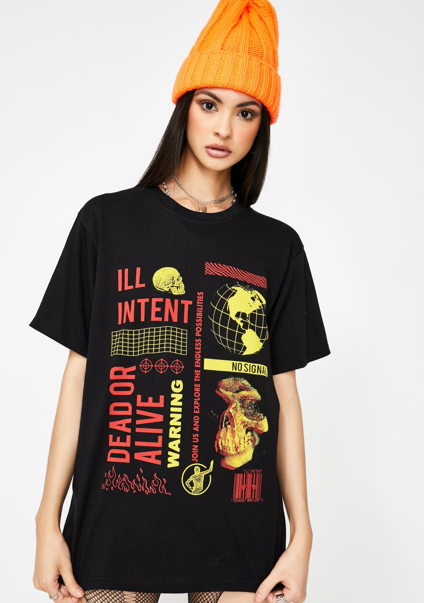 ILL INTENT Dead Or Alive Graphic Tee