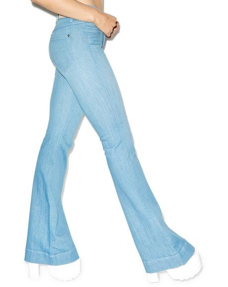 The Farrah High Rise Flare Jeans