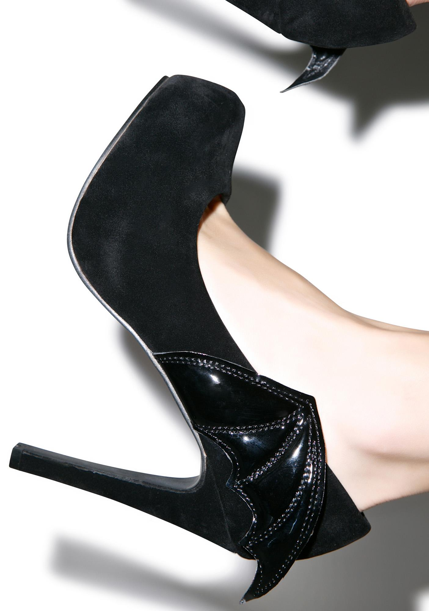 Iron Fist Night Stalker Platform Heels
