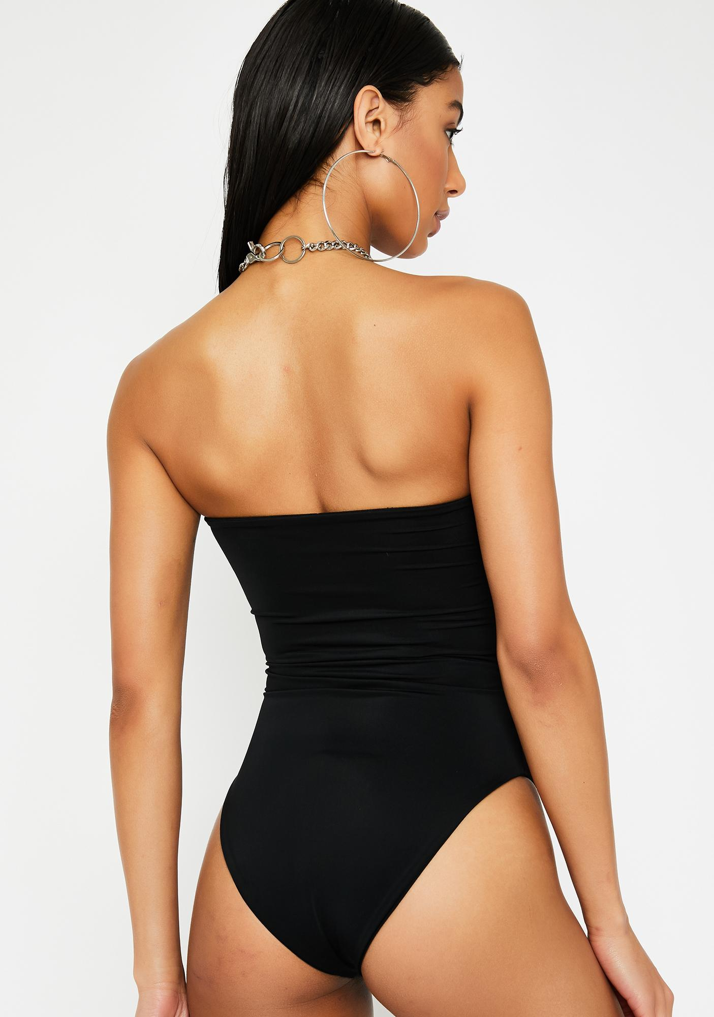 Luna Slay Club Strapless Swimsuit