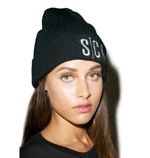 Sick Girl Nailed It Sick Girl Beanie