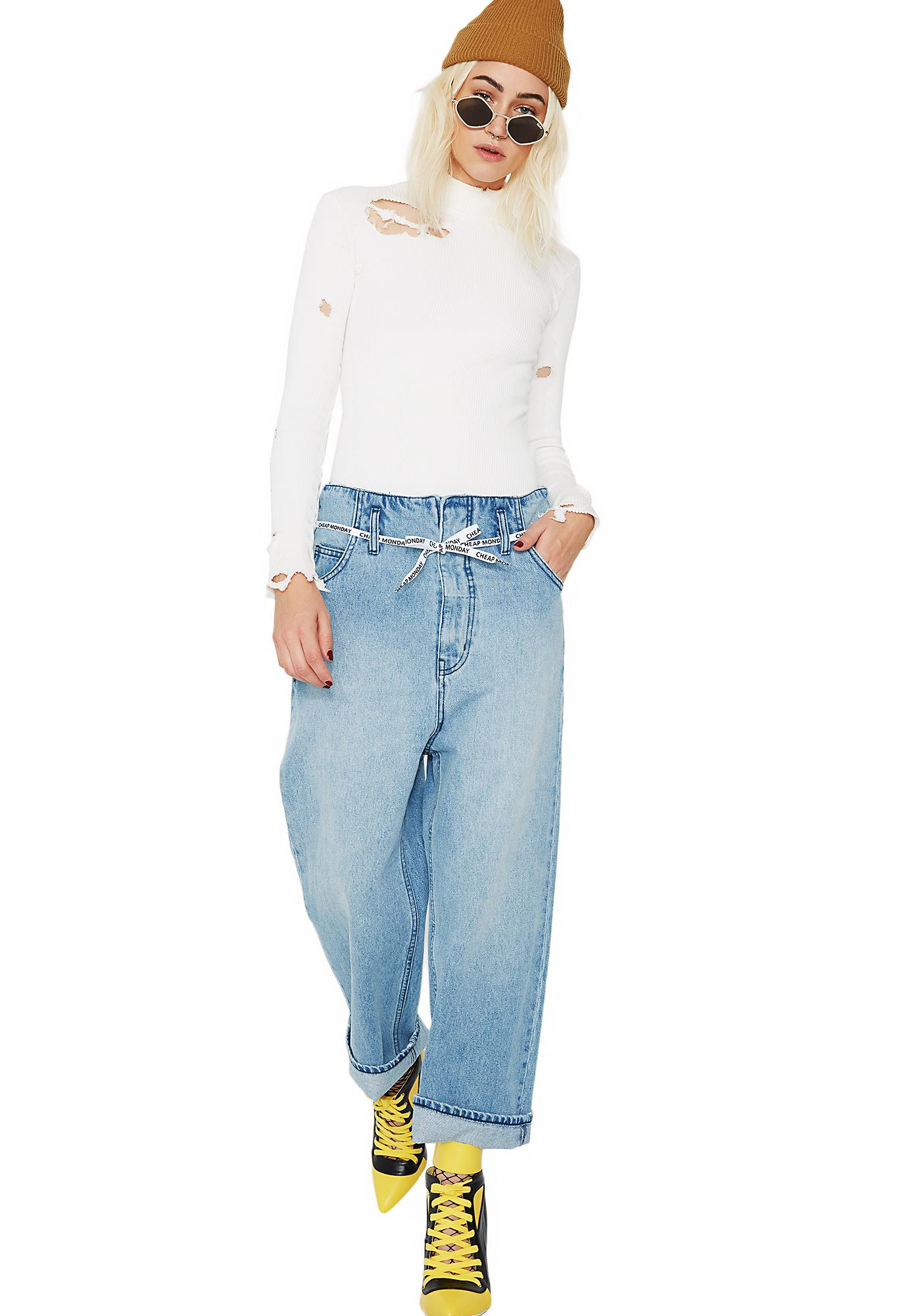 Cheap Monday Paperbag Jeans