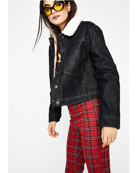 Stay Toasty Denim Jacket