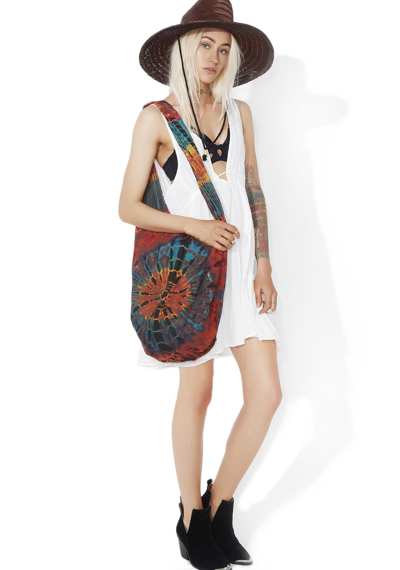 Wayfarer Tie-Dye Shoulder Bag