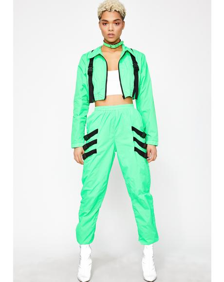 Drip On Fleek Nylon Tracksuit