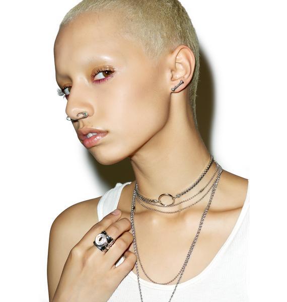 Han Cholo Bone Earrings