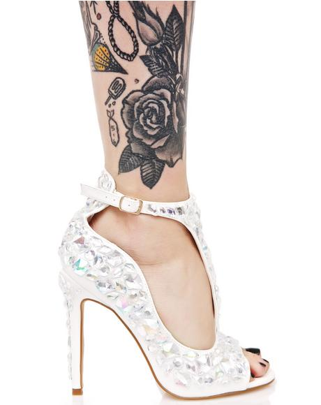 Mirage Jeweled Heel