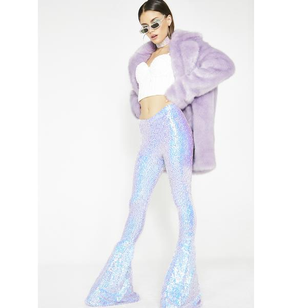 Sparkl Fairy Couture Lilac Iridescent Sequin Bells