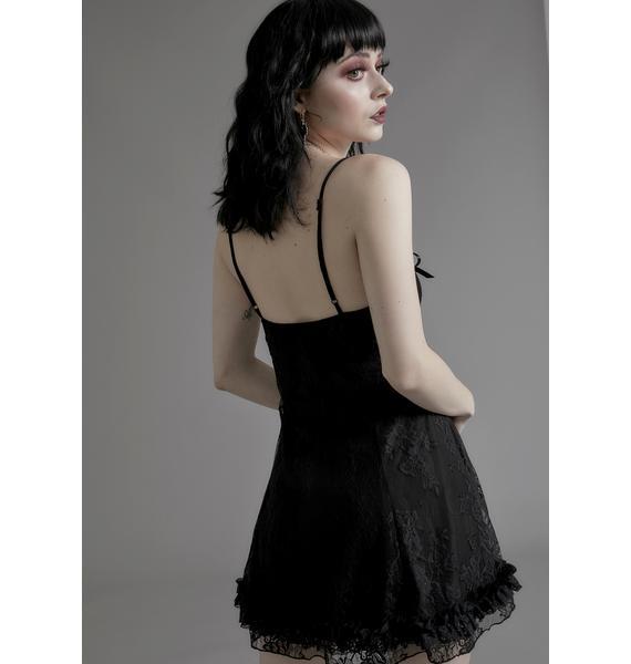 Widow Faithfully Doomed Lace Dress