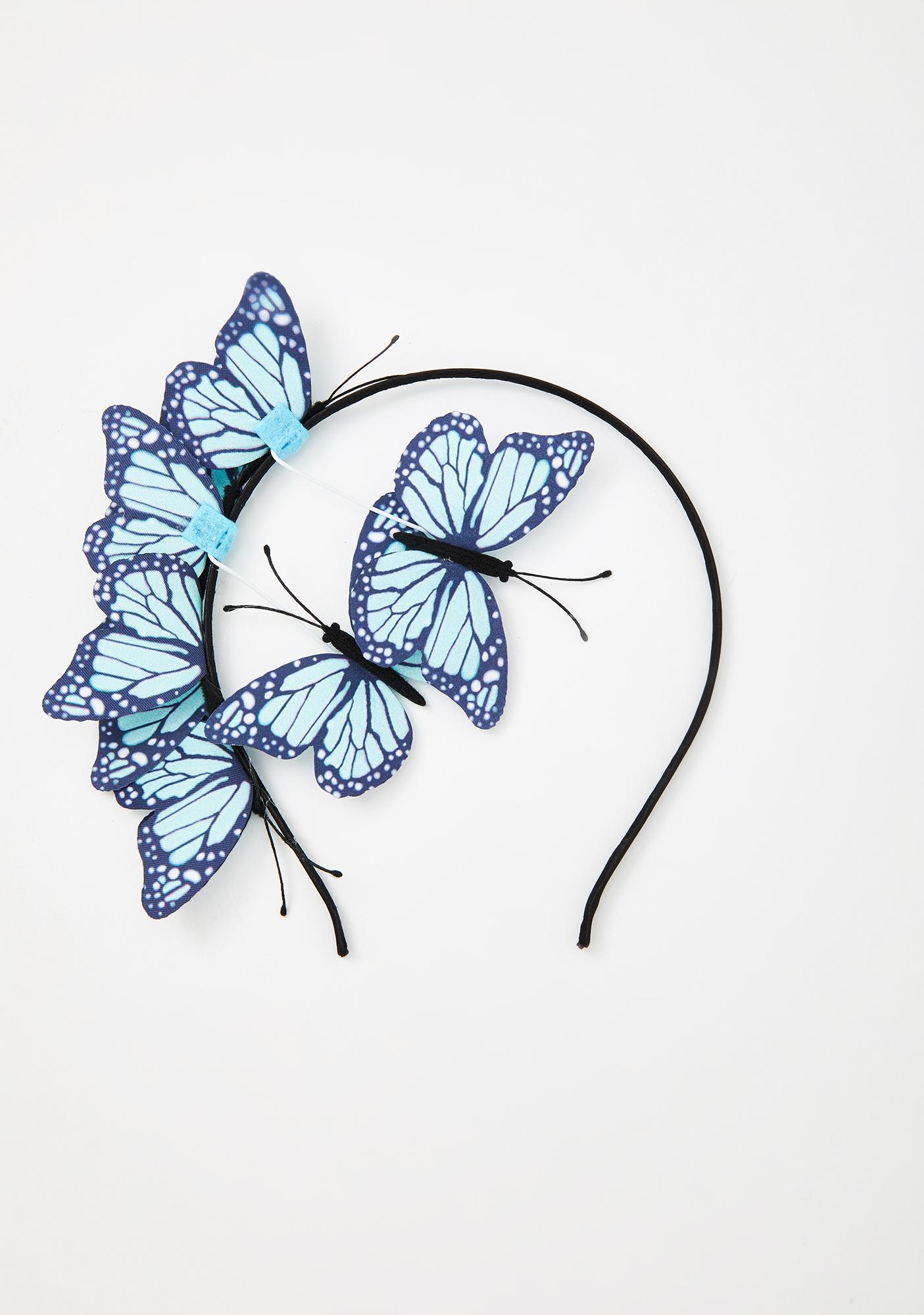 Fly Too High Butterfly Headband
