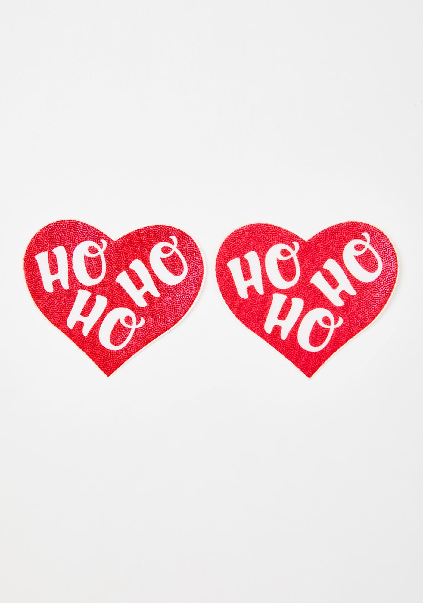 Pastease HOHOHO Heart Pasties