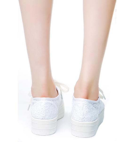 Daisy Redhook Platform Sneakers