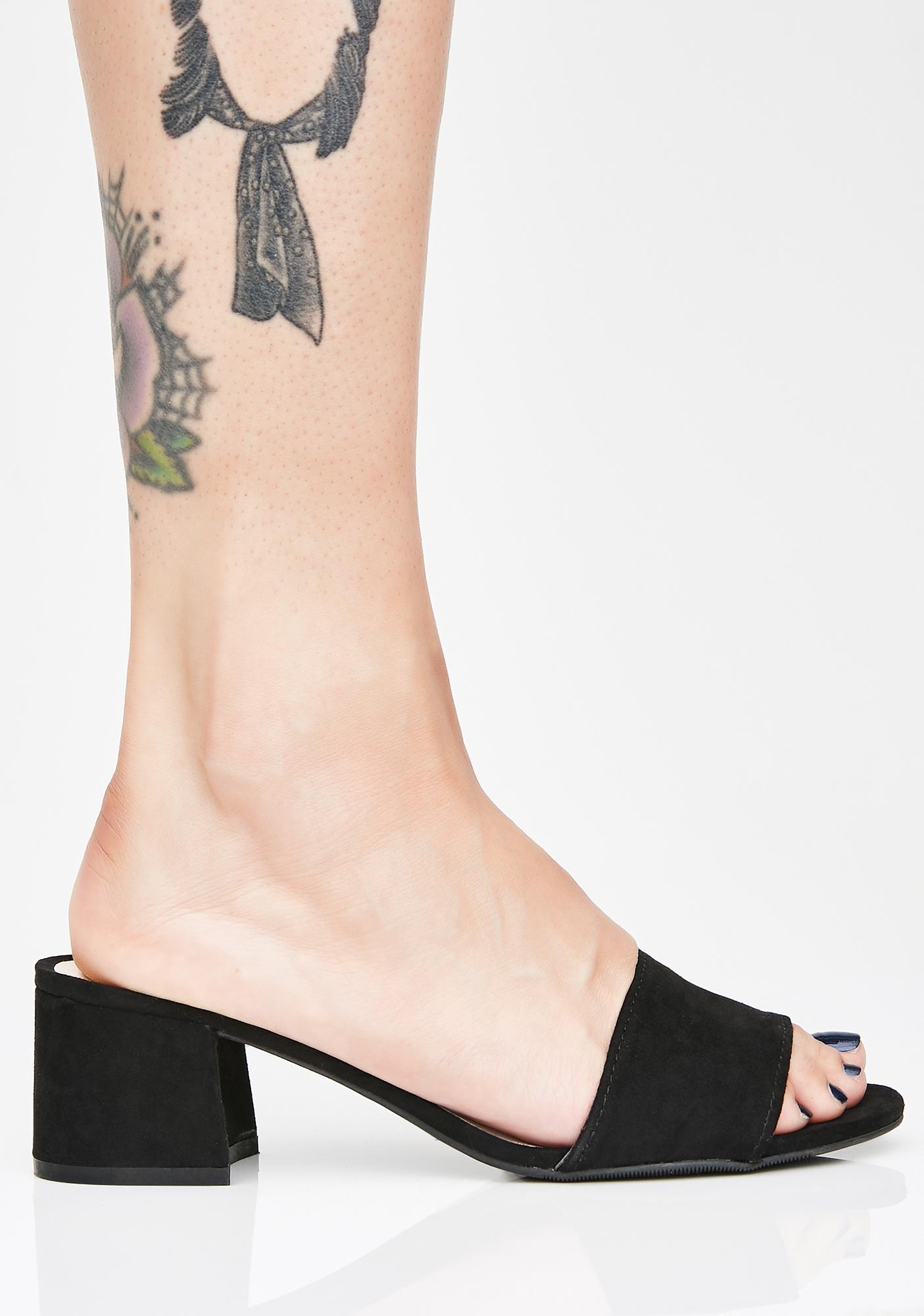 Lil Label Lady Block Heels