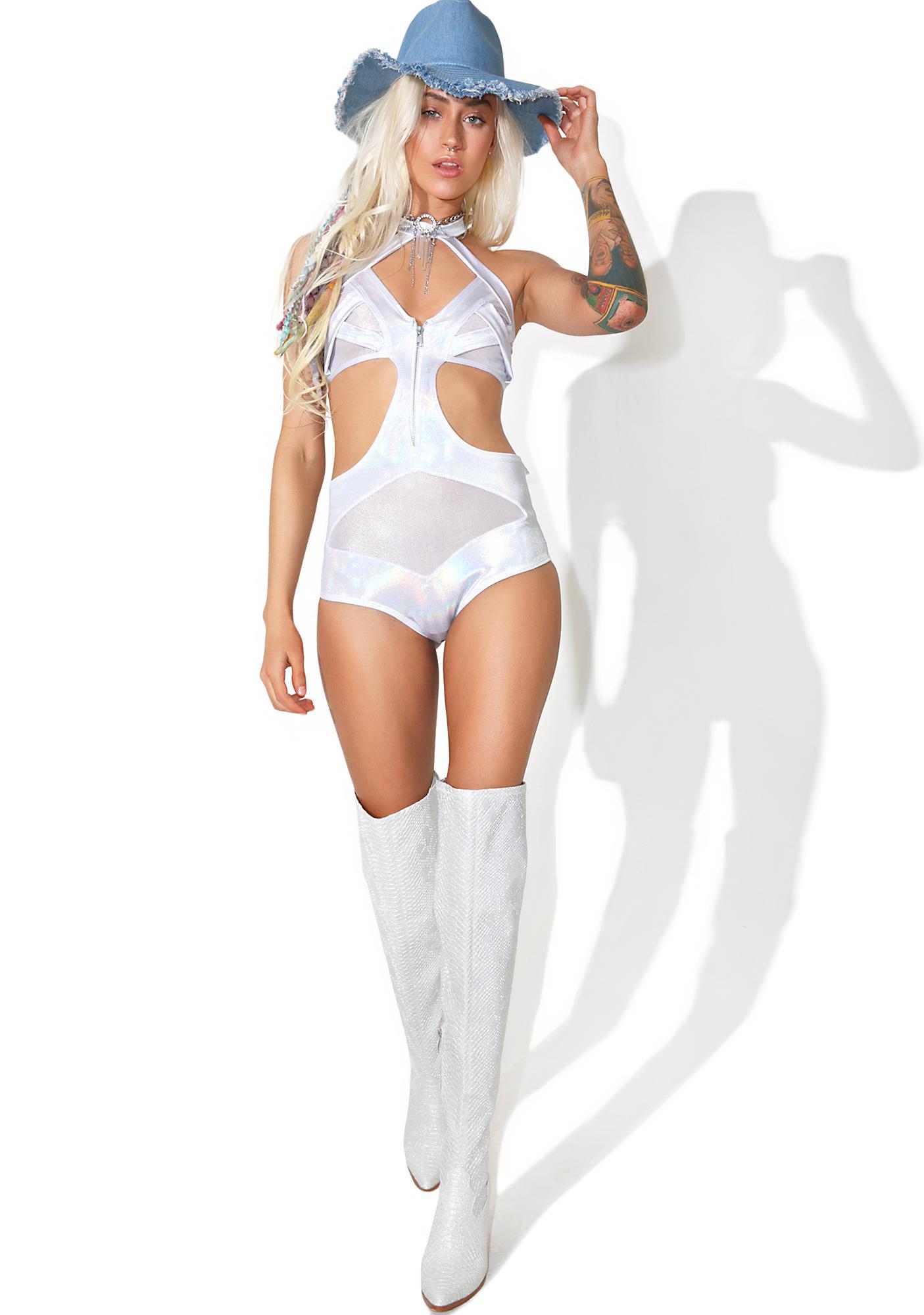 Andromeda Cutout Bodysuit