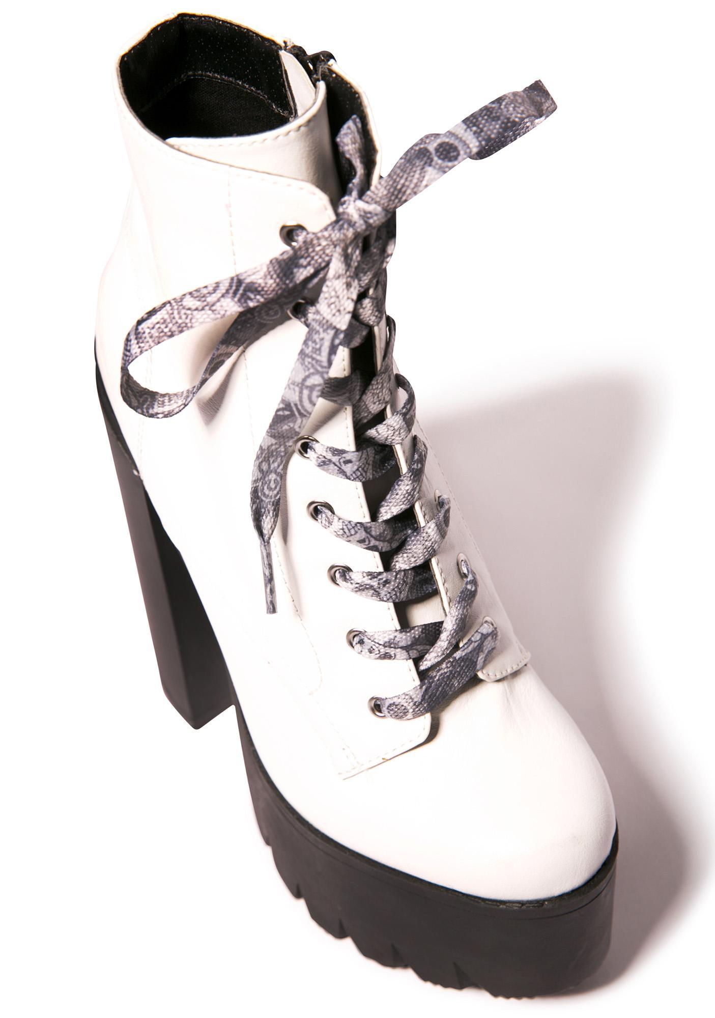 Mishka Logo Collage Shoe Laces