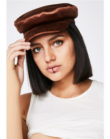 Mocha Last Ryde Conductor Hat
