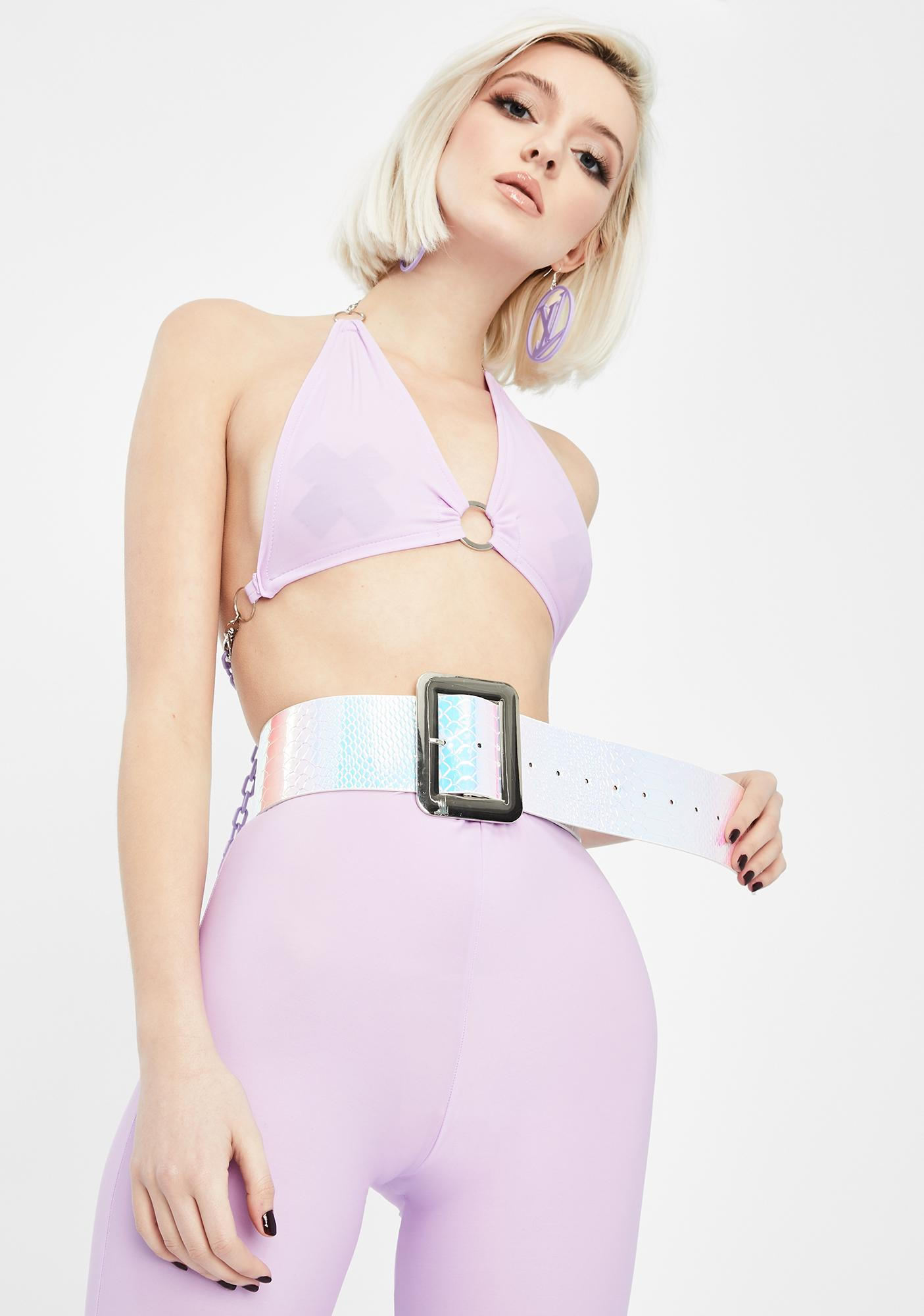 Snatched For The Stars Holographic Belt