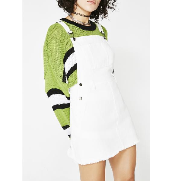 Too Lit Overall Dress