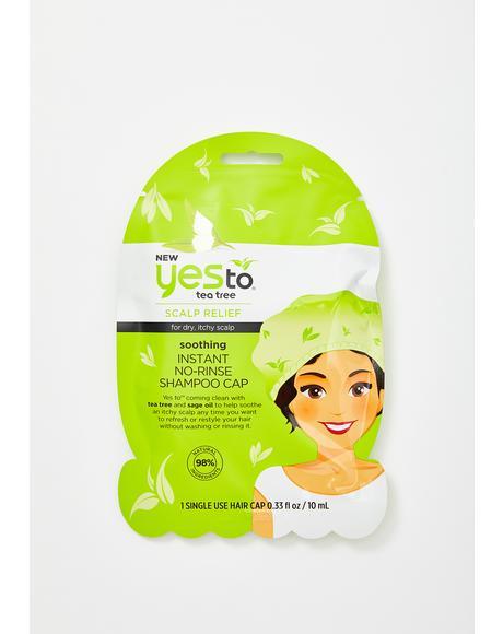 Tea Tree No Rinse Shampoo Cap