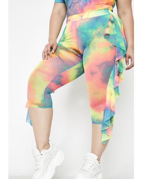 Luv Drug Tie Dye Leggings