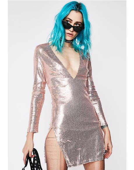 Captivated Sequin Mini Dress