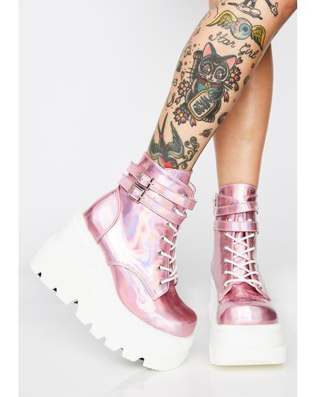 Cosmic Candy Technopagan Boots