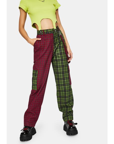 Goof Plaid Cargo Pants
