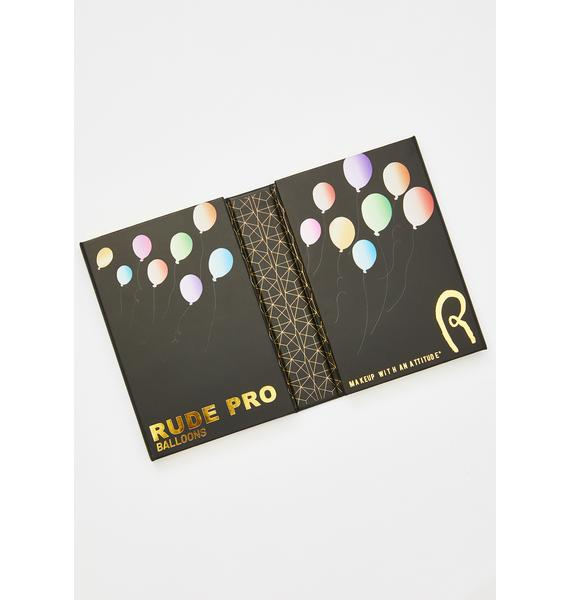 Rude Cosmetics Rude Pro Balloons 60 Color Eyeshadow Palette