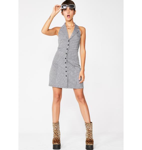 Goodie Two Shoes Mini Dress