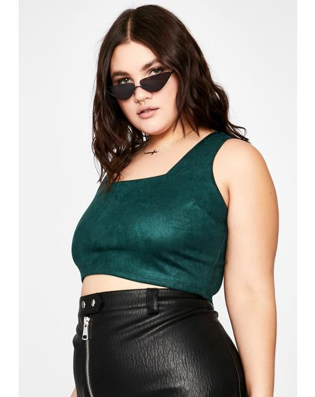 Divine Saucy Stunner Crop Top
