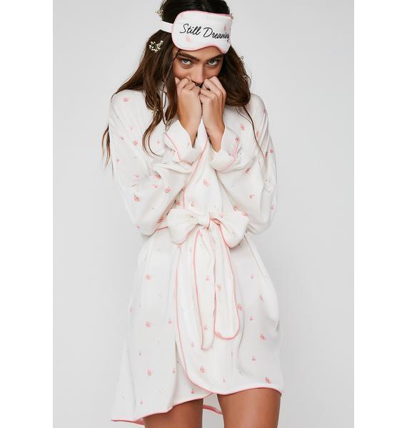 Wildfox Couture Rosebud Wallpaper Robe