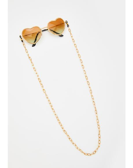 Hey Big Spender Sunglasses Chain