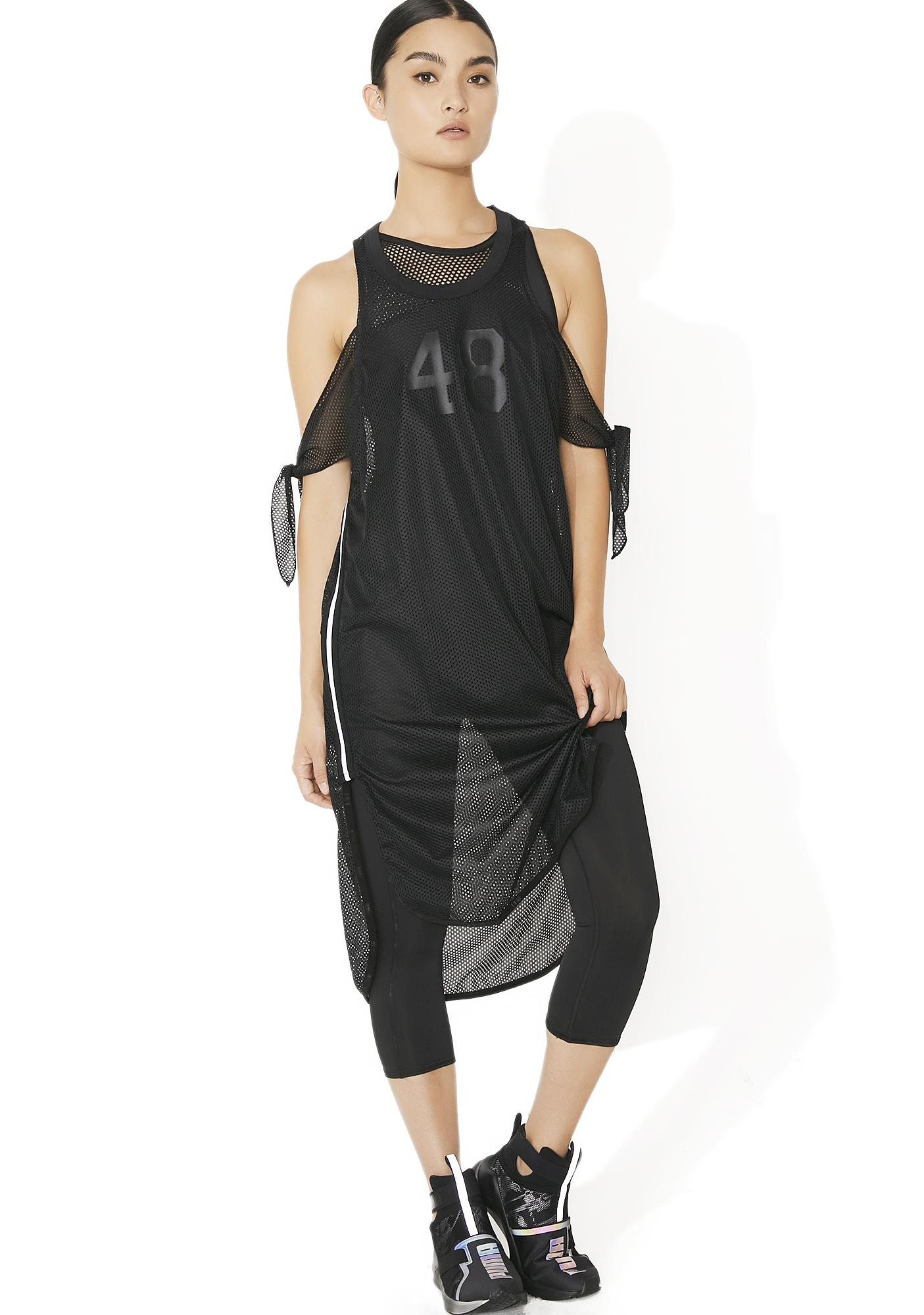 PUMA Xtreme Mesh Frill Dress