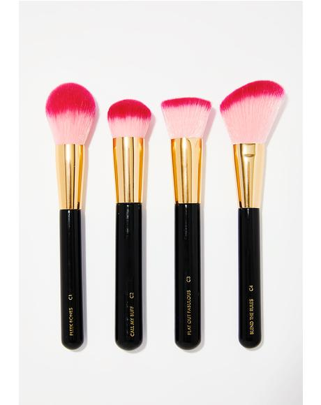 Luxe Shut The Contour Brush Set