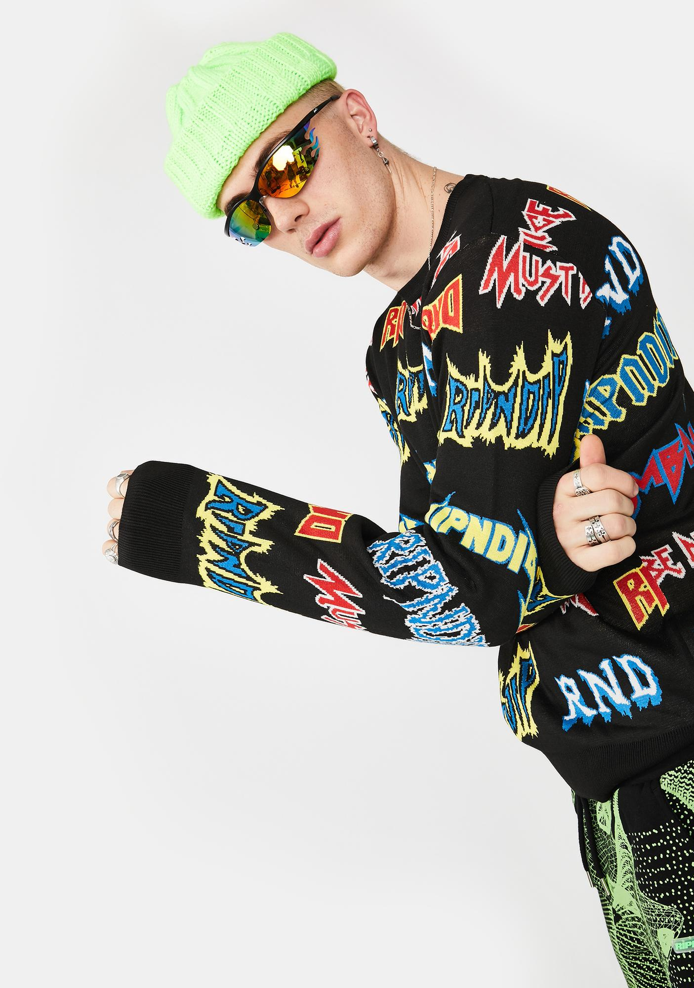 RIPNDIP Rock N' Nerm Crewneck Sweater