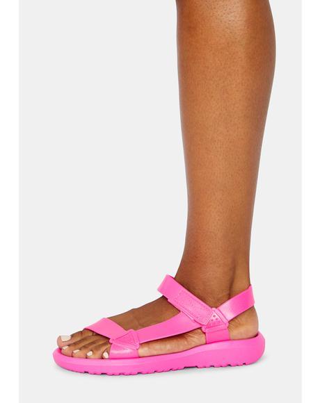 Breath Of Fresh Air Velcro Sandals