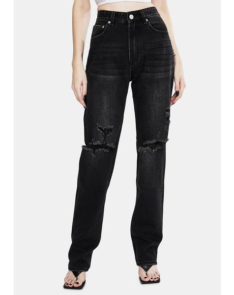 Ashes To Ashes Rebound Mid Rise Jeans