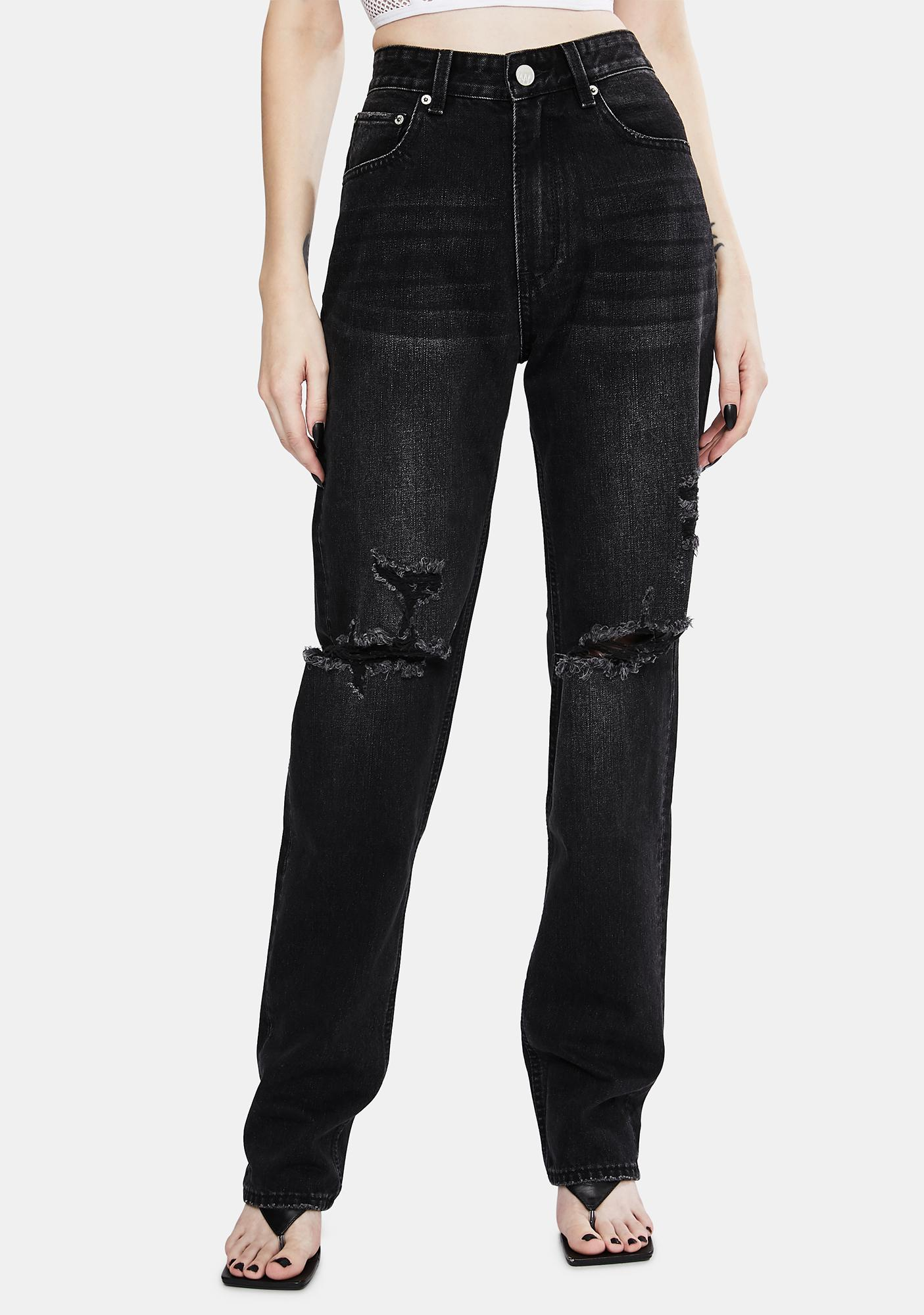 Zee Gee Why Ashes To Ashes Rebound Mid Rise Jeans
